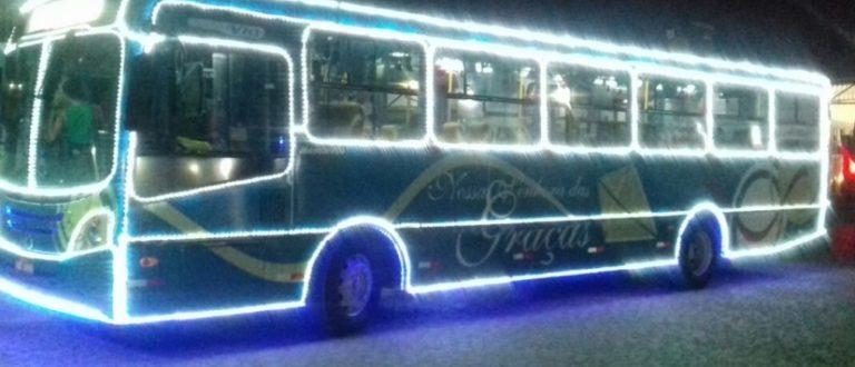Começa a circular nesta terça-feira o Ônibus Luz da TNSG