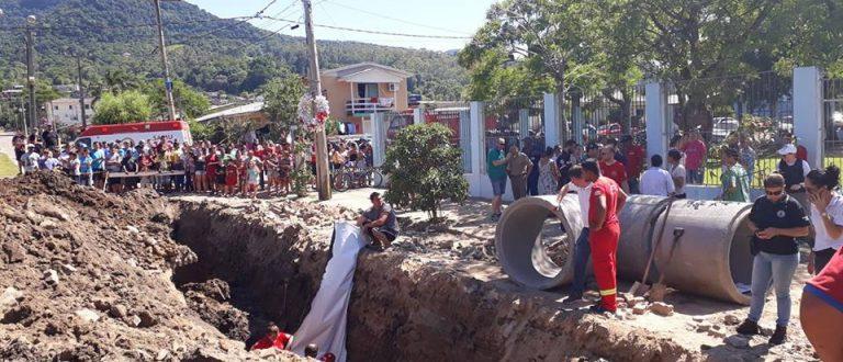 Servidor da Prefeitura de Agudo morre soterrado durante trabalho