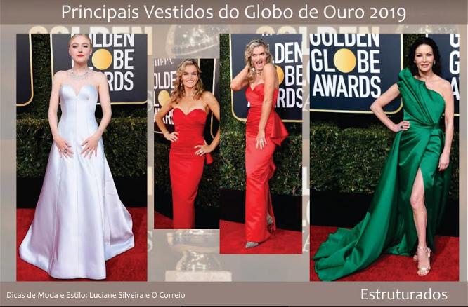 dff704bef7 Principais vestidos do Globo de Ouro 2019 - OCorreio Digital - O ...