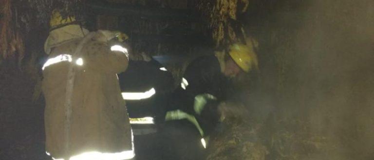 Incêndio no interior de Candelária atinge 617 varas de tabaco