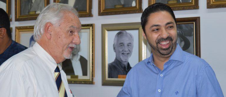 Deputado federal eleito visita prefeito
