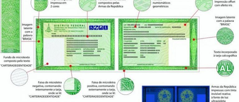 RS adota novo modelo nacional para carteiras de identidade