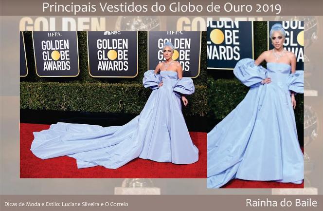 e250f081e9 Principais vestidos do Globo de Ouro 2019 - OCorreio Digital - O ...