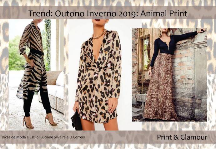 2ebd75668 Trend Outono Inverno 2019  Animal Print - OCorreio Digital - O ...