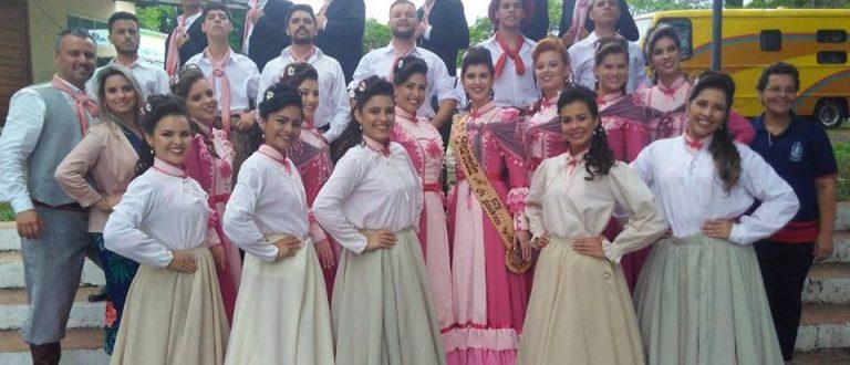 CTG Os Gaudérios representa Cachoeira no Rodeio de Xangri-lá