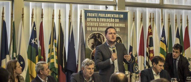 Covatti Filho formaliza pedido de auditoria para tornar RS livre de febre aftosa sem vacinação