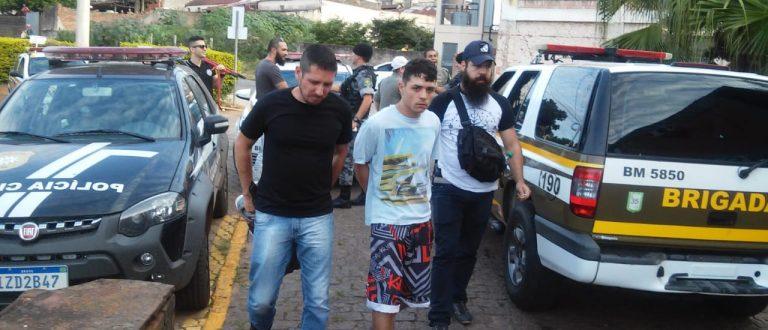 BM e Polícia Civil prendem suspeito de tráfico nos apezinhos