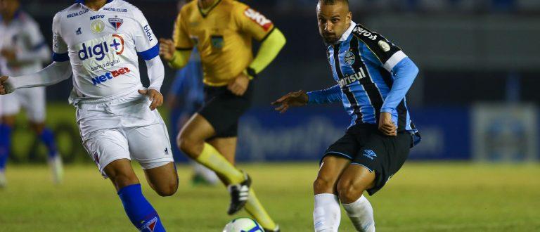 Grêmio vence em casa: 1 a 0 em cima do Fortaleza