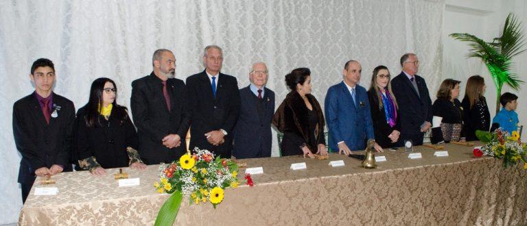 Jantar festivo marca posse dos presidentes dos rotarys