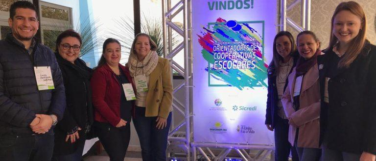 Cooperativa Escolar Marista Roque esteve em Conferência Estadual
