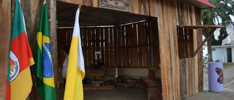 Antigo Bar América será local de chegada da chama crioula