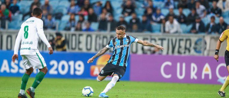 Grêmio e Chapecoense empatam em jogo de 6 gols