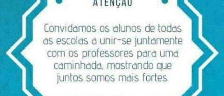Estudantes vão protestar contra o pacote de Eduardo Leite para a educação