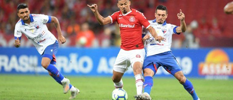 Inter empata por 2 a 2 com o Fortaleza