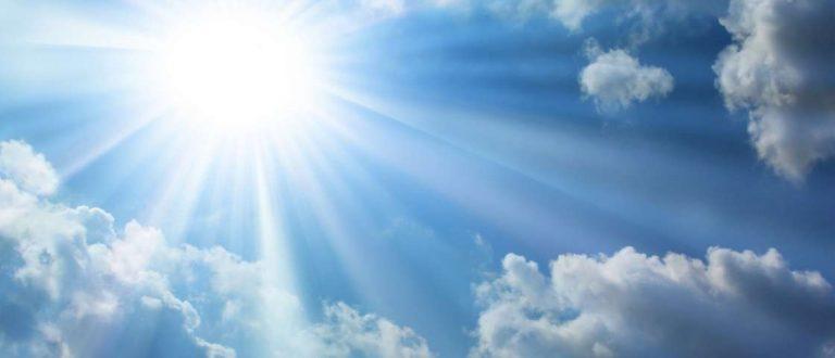 Semana de intenso calor. Boa para o plantio das culturas de verão