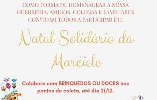 Natal Solidário de Marciele homenageia o legado da PM cachoeirense