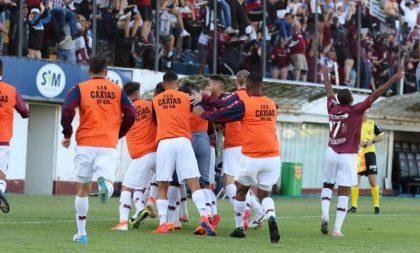Caxias vence Grêmio por 1 a 0 e conquista Taça Cel. Ewaldo Poeta