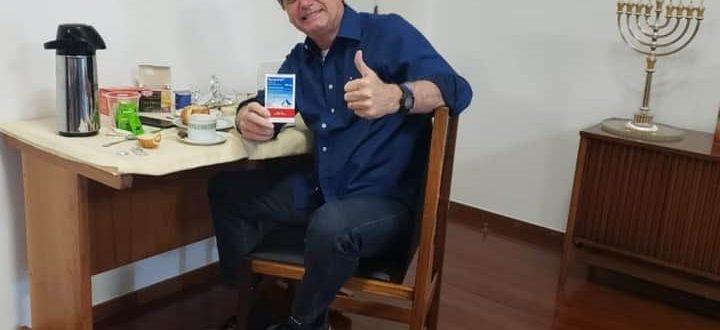 Bolsonaro anuncia que novo teste para covid-19 deu negativo