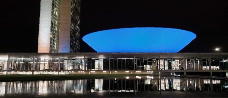 Dia do Cardiologista: Câmara dos Deputados será iluminada de azul