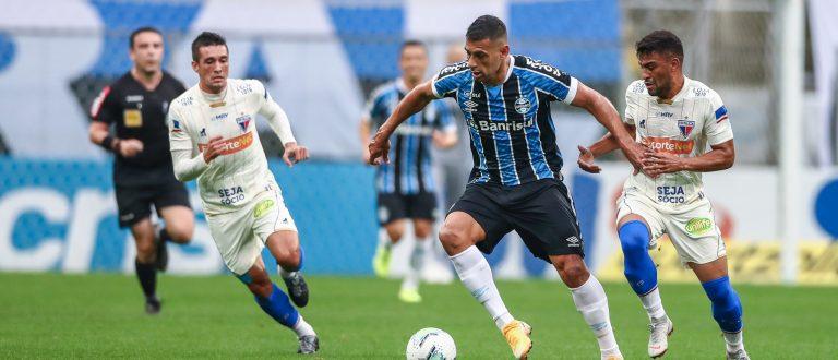 Grêmio empata com o Fortaleza na Arena