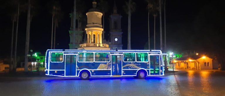 Ônibus-luz da TNSG está pronto