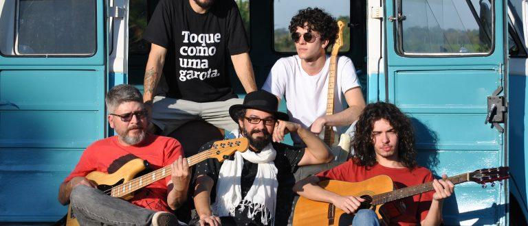 Banda de rock cachoeirense lança trabalho autoral