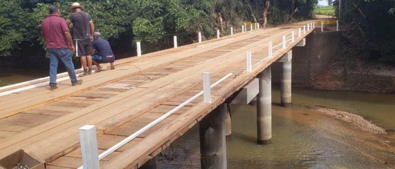Dois anos depois, ponte de Restinga Sêca é inaugurada