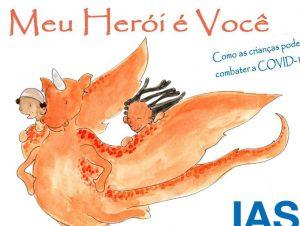 Livro ajuda crianças a se protegerem contra a Covid