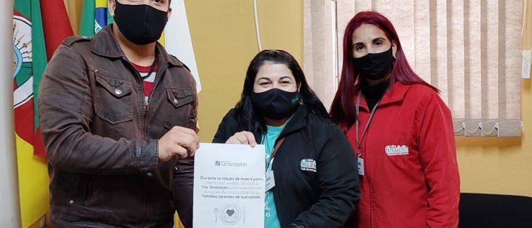 Grupo Grazziotin reverterá parte das vendas em cestas básicas para a STAS