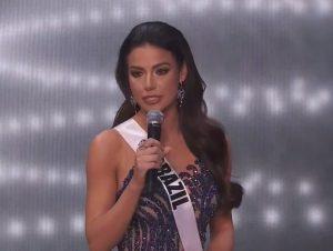 Gaúcha fica com segundo lugar no Miss Universo