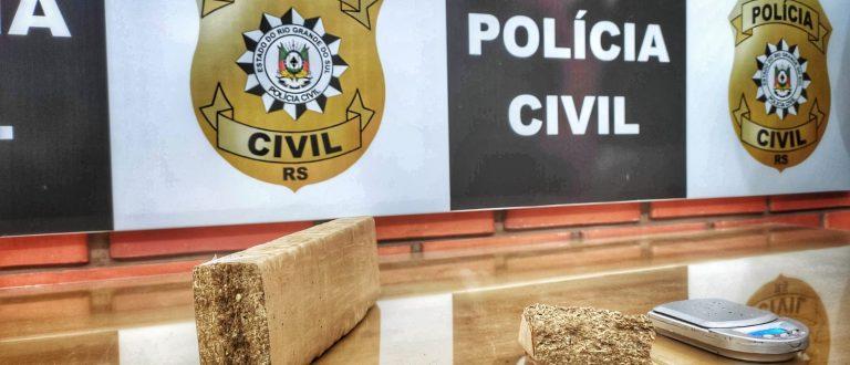 Homem é preso com 634 gramas de maconha no Bom Retiro