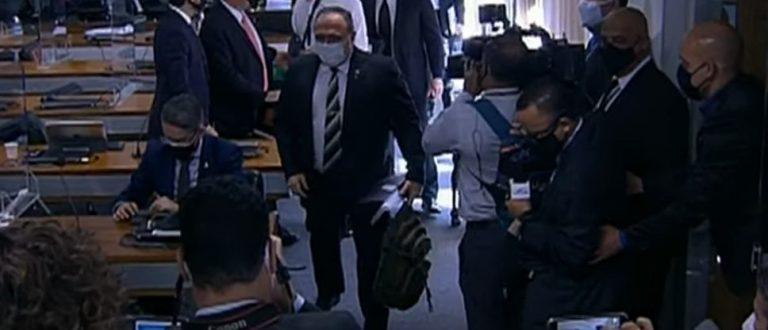 Ao vivo: Pazuello presta depoimento mais aguardado na CPI da Covid
