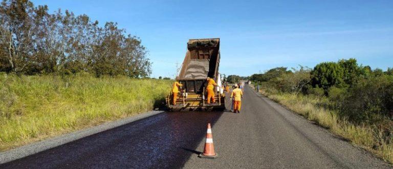 Avançam obras da ERS-403, entre Cachoeira do Sul e Rio Pardo