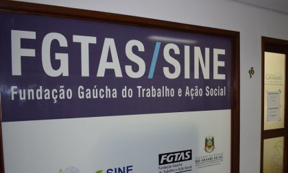 VAGAS / SINE / CACHOEIRA