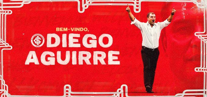 Diego Aguirre é o novo técnico do Inter