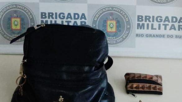 Soares: BM prende homem por roubo a pedestre