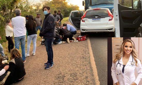 Vítima de acidente na BR-290 era médica de Alegrete