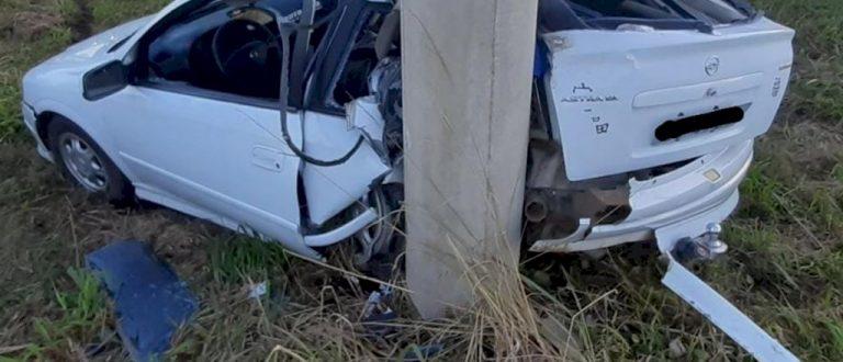 Jovem fica ferido em acidente na ERS-348
