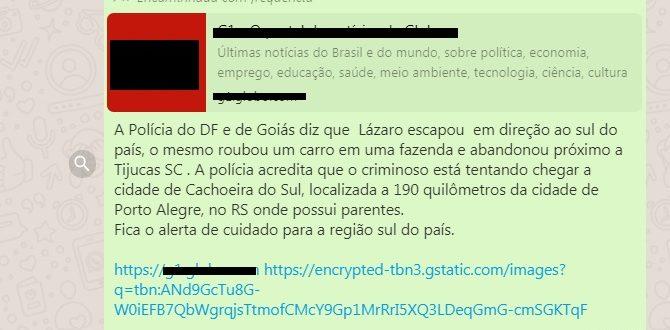 Fake News envolve fuga de serial killer para Cachoeira do Sul
