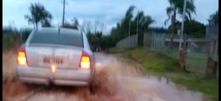 Estrada da Guajuvira vira um caos para os moradores