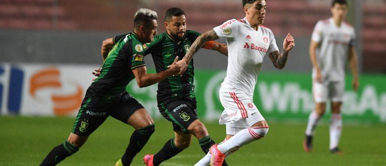 Inter busca empate fora de casa contra América-MG