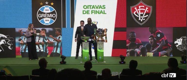 Grêmio enfrenta o Vitória nas oitavas da Copa do Brasil