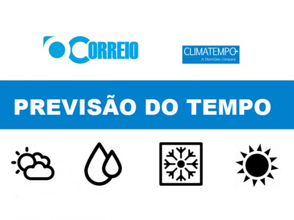 PREVISÃO DO TEMPO / 28 DE JULHO / CACHOEIRA