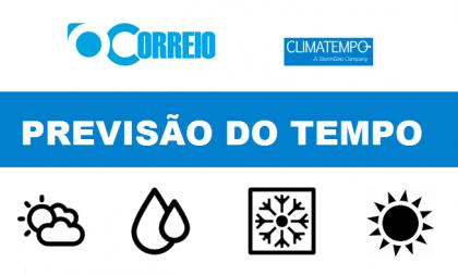 PREVISÃO DO TEMPO / 26 DE JULHO / CACHOEIRA