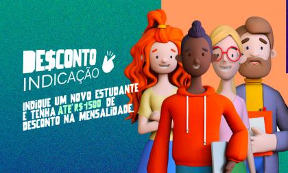 Unisc lança campanha intitulada Desconto Indicação