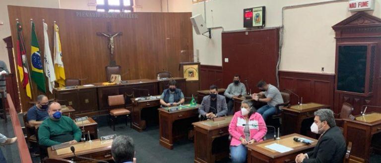 Procurador e secretário participam de reunião da comissão da saúde da Câmara