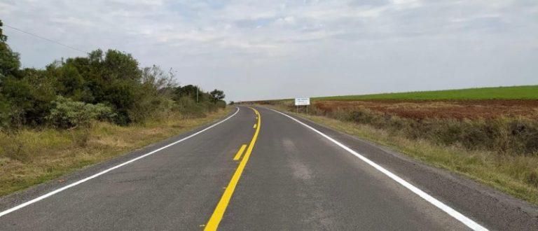 ERS-403 tem mais 4 quilômetros pavimentados em Cachoeira do Sul