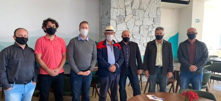 Comitiva de Novo Cabrais agiliza tratativas com Calçados Beira Rio
