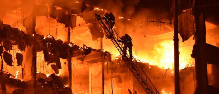 Incêndio atinge prédio da Secretaria da Segurança Pública do RS