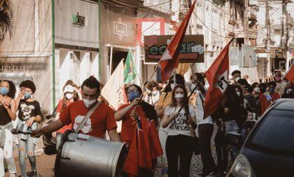 Frente Unificada Fora Bolsonaro realiza mais um ato em Cachoeira do Sul